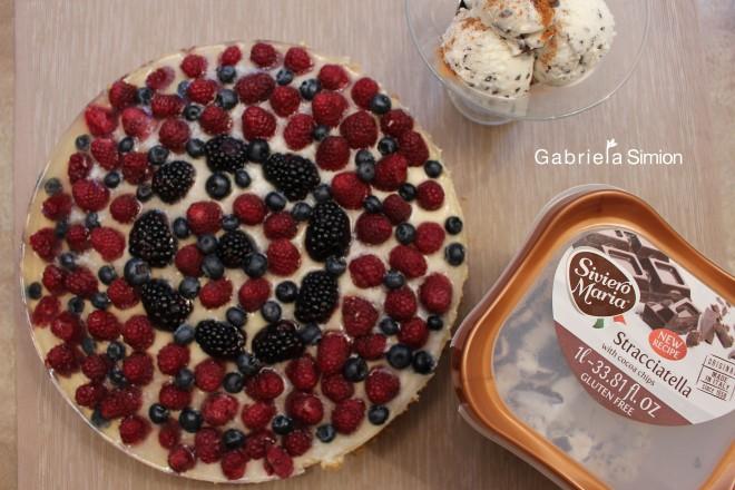 Tort De Tiramisu Cu Fructe de Padure Gabriela Simion Retete de Weekend