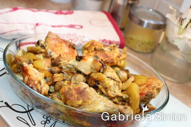 Pui Cu Cartofi la Cuptor Gabriela Simion