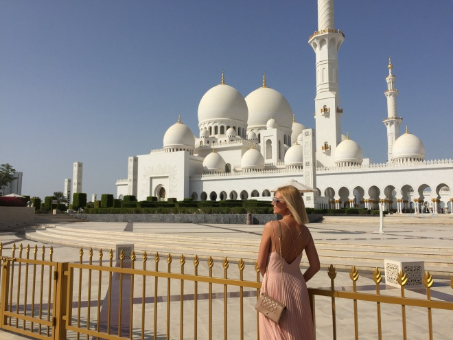 Gabriela Simion Moscheea Șeicului Zayed