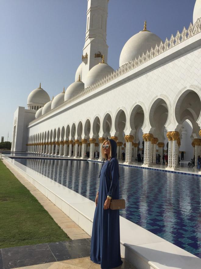 Marea Moschee din Abu Dhabi 2017 Gabriela Simion