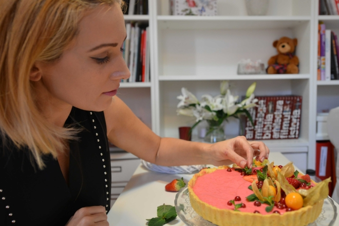 Gabriela Simion Tarta cu Capsune #FOODSIE Masterchef
