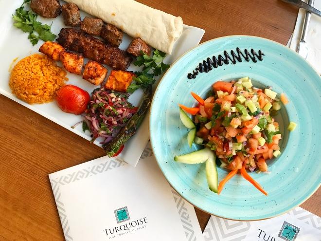 Meniu Kebab Turquoise Restaurant Gabriela Simion