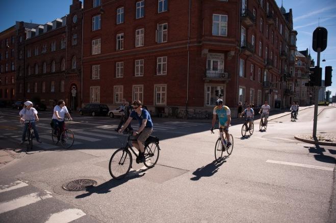 Intersectie Copenhaga, Vacanta cu Bicicleta, Gabriela Simion