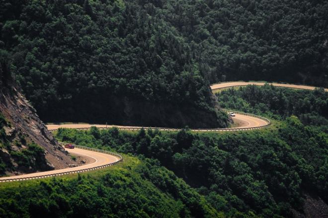 Gabriela Simion Vacanta Road Trip Cabot Trail, Nova Scotia, Canada