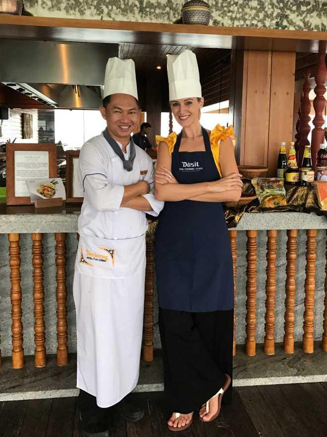 Gabriela Simion - Thai Chef - Curs de Gatit Thailandez in Maldive