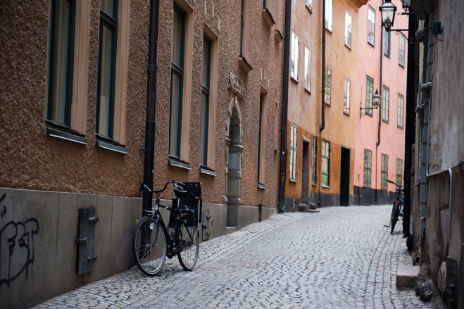 Biciclete Gamla Stan, Vacanta in Stockholm, Gabriela Simion