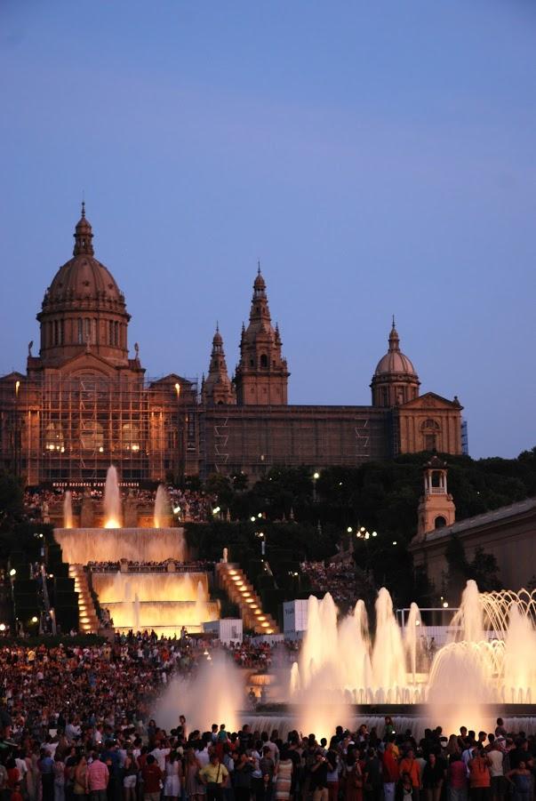 Fântâna Magică din Montjïuc, Vacanta in Barcelona, Gabriela Simion