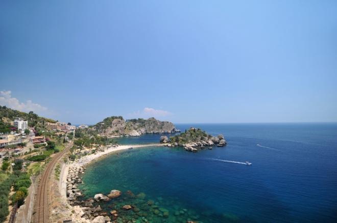 Isola Bella, Plaje in Sicilia, Gabriela Simion