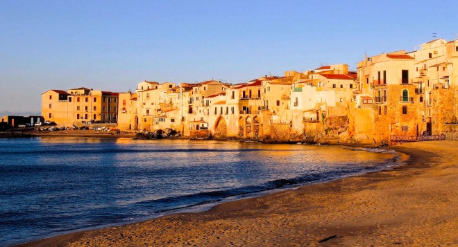 Lungomare di Cefalu, Sicilia, Gabriela Simion