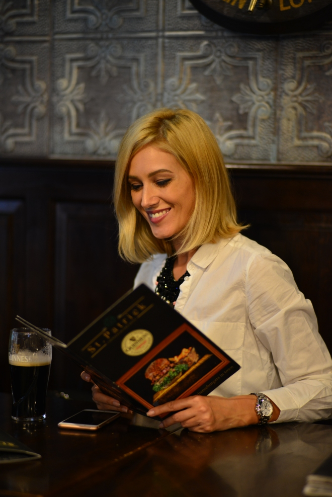 Meniu Restaurant St. Patrick Irish Pub, Gabriela Simion