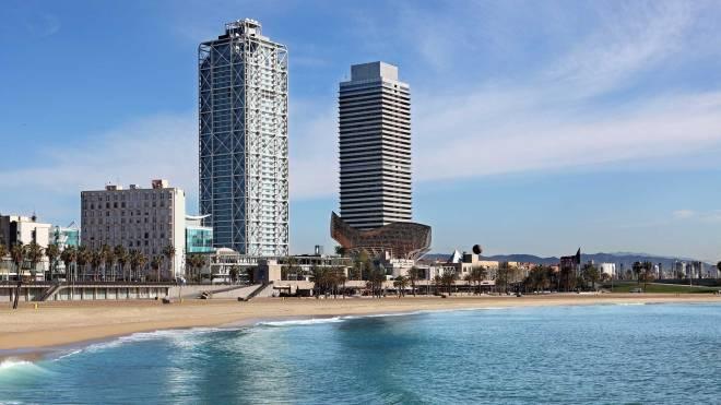 Plaja La Barceloneta, Vacanta in Barcelona, Gabriela Simion