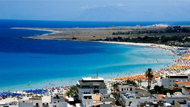 Plaja San Vito lo Capo, Sicilia, Gabriela Simion