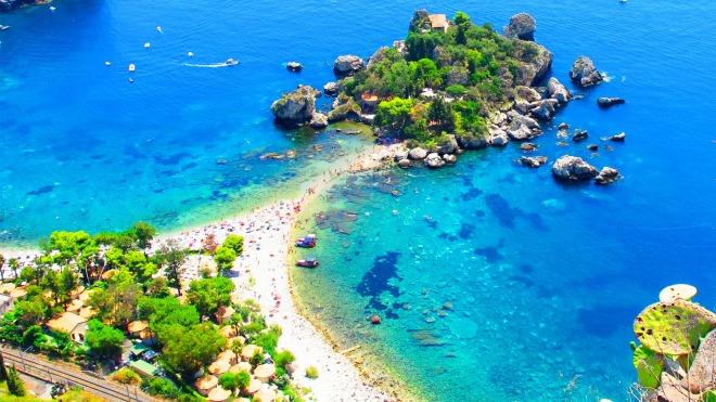 Poze Isola Bella, Plaje in Sicilia, Gabriela Simion