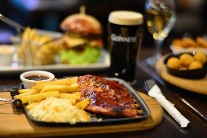 Prok Ribs, St. Patrick Irish Pub, Gabriela Simion
