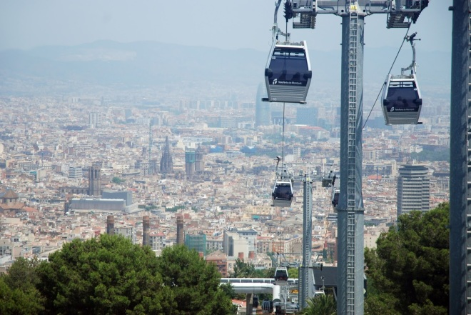 Telegondole, Vacanta in Barcelona, Gabriela Simion