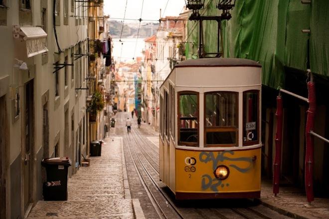 Ascensor da Bica Lisabona, Portugalia, Gabriela Simion