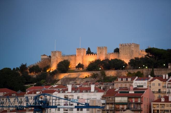 Castelul San Jorge Lisabona , Portugalia, Gabriela Simion