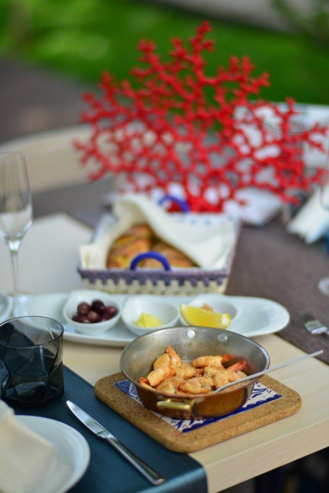 Creveti Dancing Lobster, Restaurant Portughez, Gabriela Simion