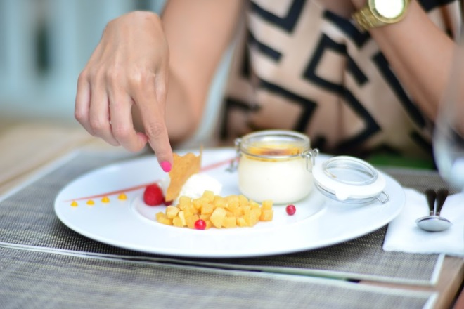 Desert Restaurant Haute Pepper, Gabriela Simion