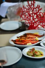 Mancare Dancing Lobster, Restaurant Portughez, Gabriela Simion