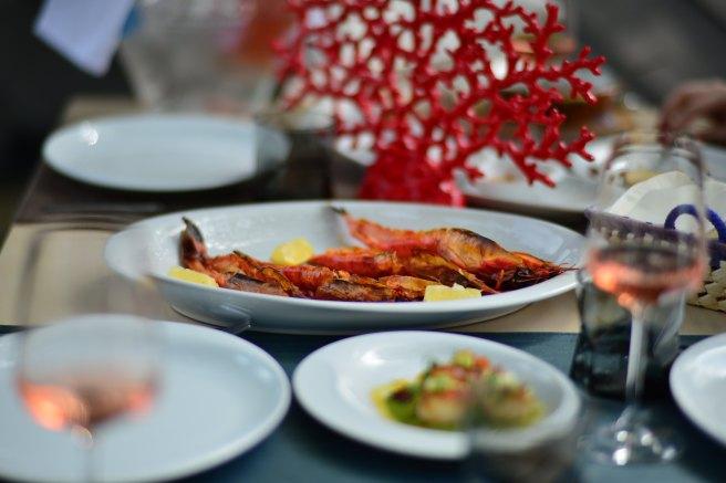 Poze Dancing Lobster, Restaurant Portughez, Gabriela Simion