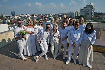 Le Diner en Blanc, gabriela simion, all white, party in white, 24 august, bucharest