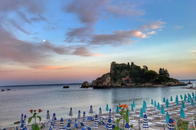 #Taormina, Sicilia, Gabriela Simion (44) Plaja