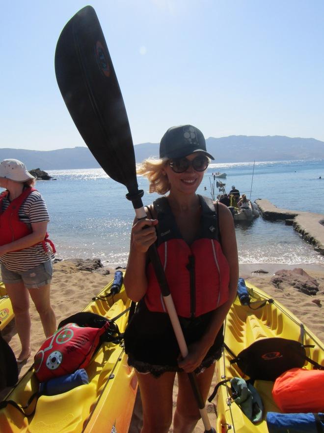 Mykonos Kayak Tours, Gabriela Simion 2017