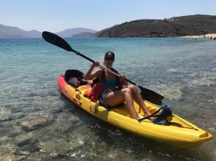 Mykonos Kayak Tours, Gabriela Simion Training