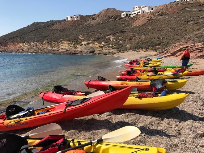 Mykonos Kayak Tours, Gabriela Simion Vacanta