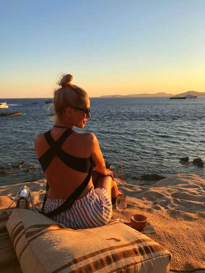 Fotografii Gabriela Simion, Plaje Mykonos