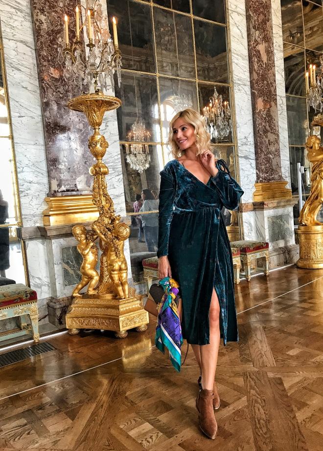 Gabriela Simion, Palatului Versailles Franta