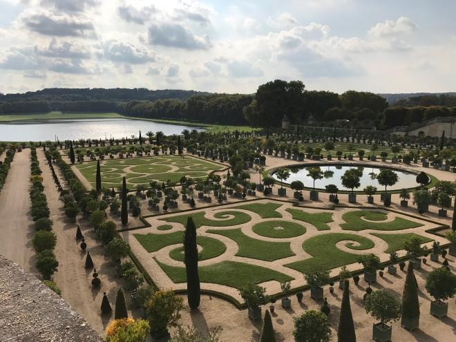 Poze Gabriela Simion, Palatului Versailles Franta